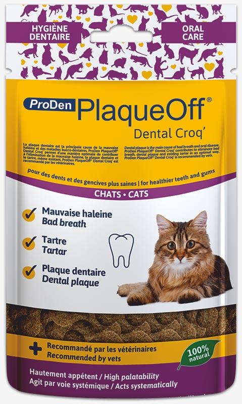 Pour la santé bucco-dentaire de votre chat - Antitartre et bonne haleine!