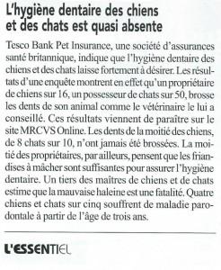 Essentiel n° 392 janvier 2016