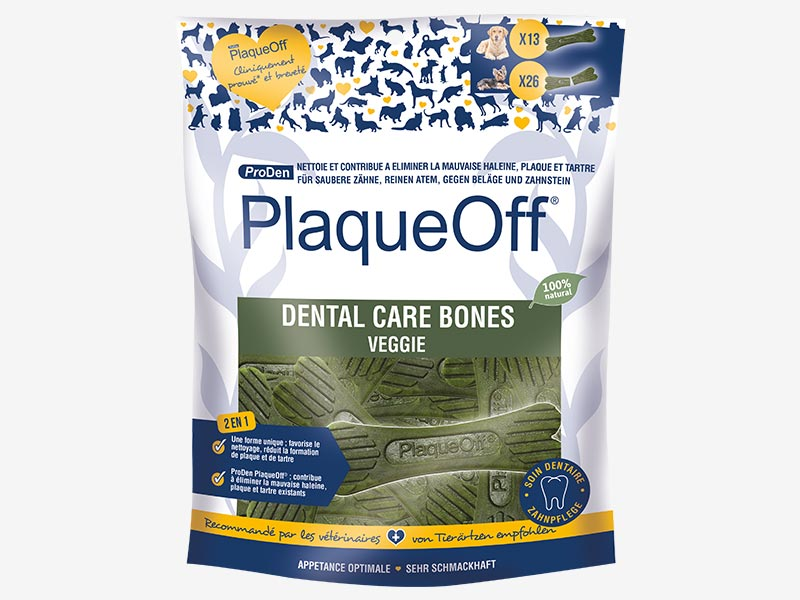 PlaqueOff Dental Care Bones